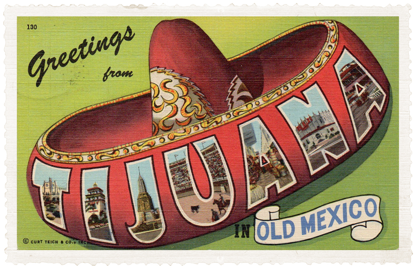 TIJUANA POST CARD